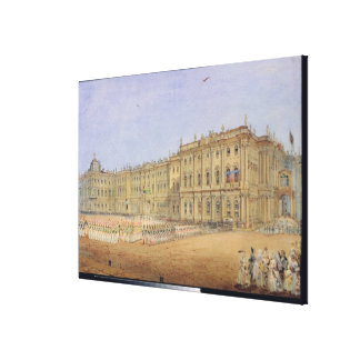 Review at the Winter Palace Canvas Prints