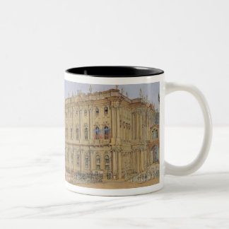 Review at the Winter Palace Two-Tone Coffee Mug