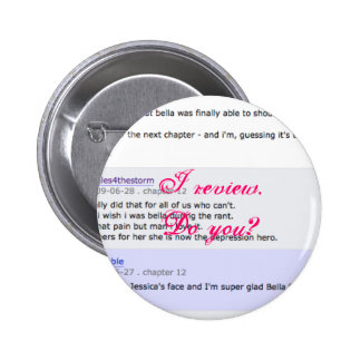 Review Crew Member Pinback Button