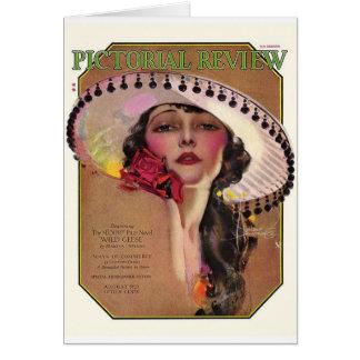 Review ilustrado, 1925 felicitación