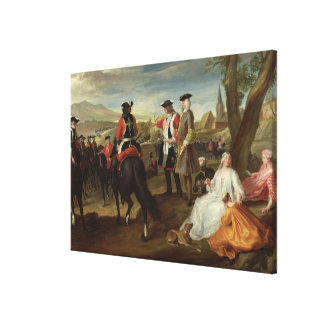 Review of the Black Musketeers Canvas Print