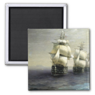 Review of the Black Sea Fleet 2 Inch Square Magnet