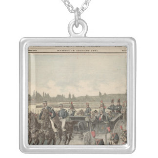 Review of Troops Square Pendant Necklace