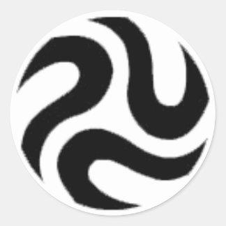 REVIL-Logo Classic Round Sticker