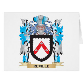 Reville Coat of Arms - Family Crest Large Greeting Card