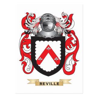 Reville Coat of Arms (Family Crest) Postcard
