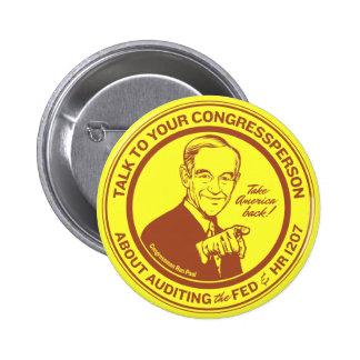 Revise el botón de Federal Reserve Pins