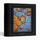 REVISED Binder William Morris Print Blue Floral Binder