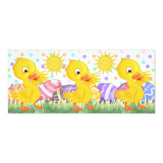 Revised Easter Cheer - SRF 4x9.25 Paper Invitation Card