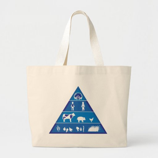 Revised Food Chain Canvas Bag