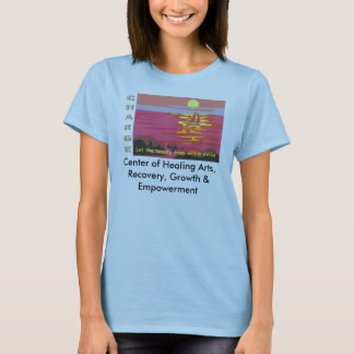 revised logo, Center of Healing Arts, Recovery,... T-Shirt