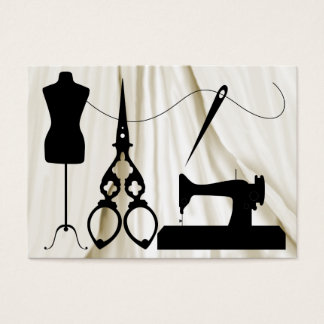 Revised Sewing 1A / Fashion / Seamstress Business Card