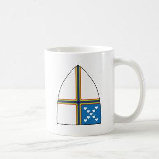 revised shield coffee mug