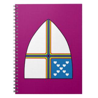 revised shield spiral notebook