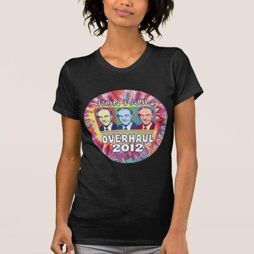 Revisión 2012 de Ron Paul Camiseta