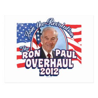 Revisión 2012 de Ron Paul Tarjetas Postales