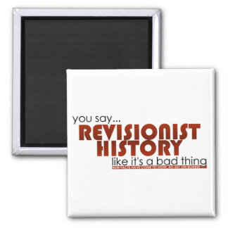 Revisionist History 2 Inch Square Magnet