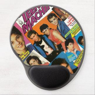 Revista adolescente Mousepad del vintage Alfombrillas Con Gel
