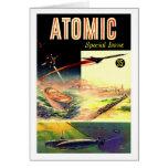 Revista atómica nuclear retra de los años 60 de Sc Felicitacion