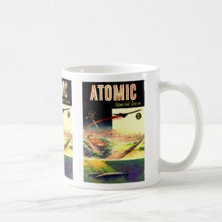Revista atómica nuclear retra de los años 60 de Sc Taza
