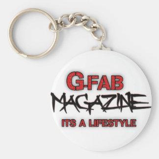 Revista de Gfab Llavero Redondo Tipo Pin