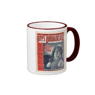 Revista de la difusión de los muchachos del vintag taza