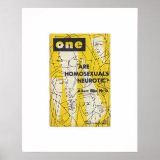 Revista de la edición limitada UNA, impresión Apri Poster
