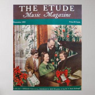 Revista de la música el Etude diciembre de 1937 Impresiones