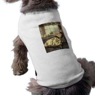 Revista de la película de Norma 1921 Talmadge y de Playera Sin Mangas Para Perro