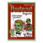 Revista de los Undead Felicitaciones