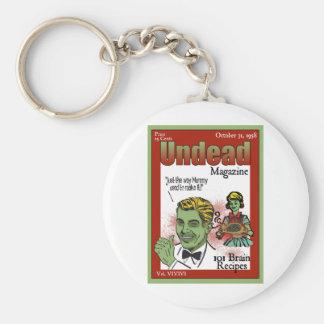 Revista de los Undead Llavero