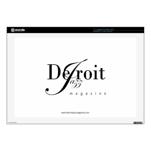 Revista del jazz de Detroit Portátil Skin