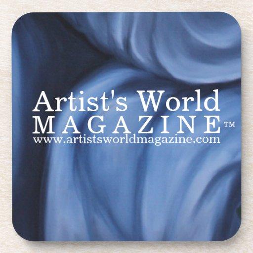Revista del mundo del artista posavasos