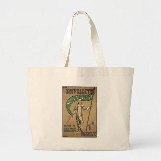 Revista del Suffragette Bolsas Lienzo