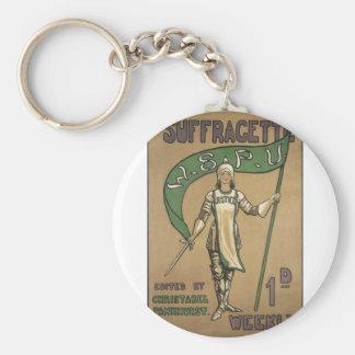 Revista del Suffragette Llavero