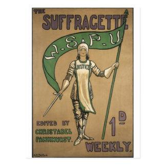 Revista del Suffragette Postales
