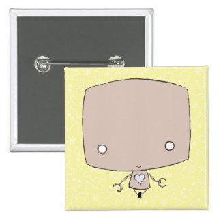Revista el pequeño robot con cobre (la impresión d pin