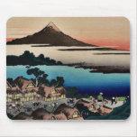 Revista ilustrada para Hokusais 36 vistas del mont Alfombrilla De Ratón