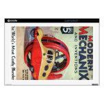 Revista moderna de Mechanix del vintage Calcomanías Para 43,2cm Portátiles
