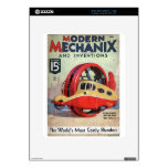 Revista moderna de Mechanix del vintage Calcomanía Para iPad