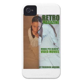 REVISTA RETRA DE FREDERICK JACKSON Case-Mate iPhone 4 CÁRCASAS