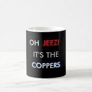 """¡Reviste con cobre! """"Taza """" Taza"""