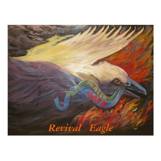 Revival Eagle postcard