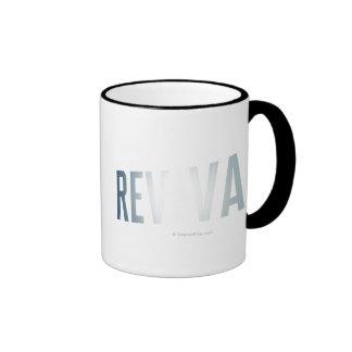 Revival Logo Ringer Coffee Mug