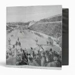 Revival of the Olympic Games in Athens 3 Ring Binder