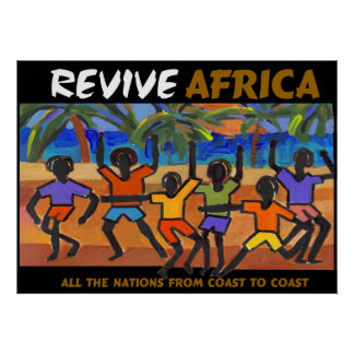 Revive Africa Poster