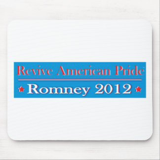 Revive American Pride - Romney 2012 Mouse Pad