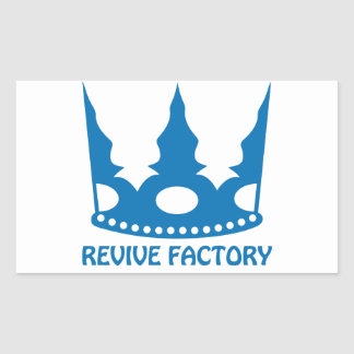 REVIVE-FACTORY(青) シール