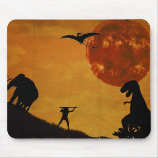 Revive Jurassic Mouse Pad