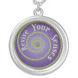 Revive Your Sense Pendant Necklace
